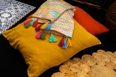 HARMONY TEXTILE - Coussin Propriano, T-0069 et T-0070